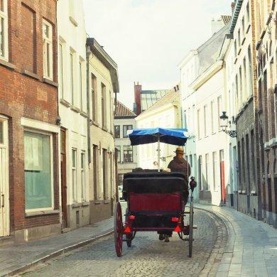 Перевозка туристов в Брюгге