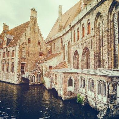 Брюгге - старинные дома