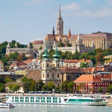 Сторона Буды в Будапеште