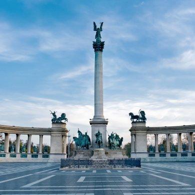 Квадрат героев в Будапеште