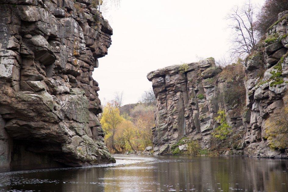 Букский каньон, Черкасская область
