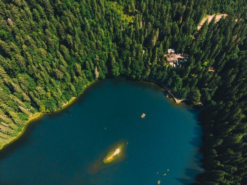 Озеро Синевир, Закарпатская область