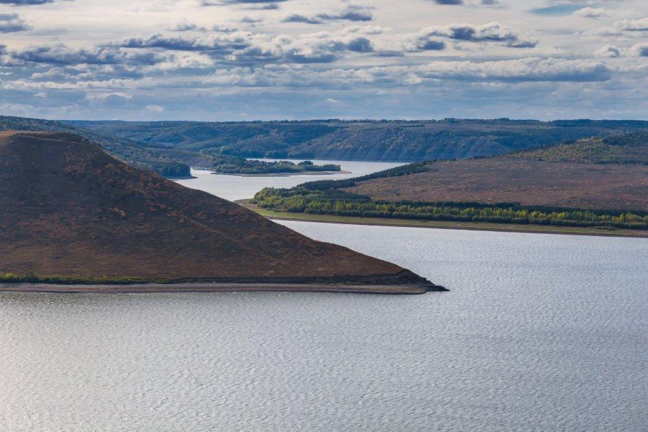 Озеро в Бакоте