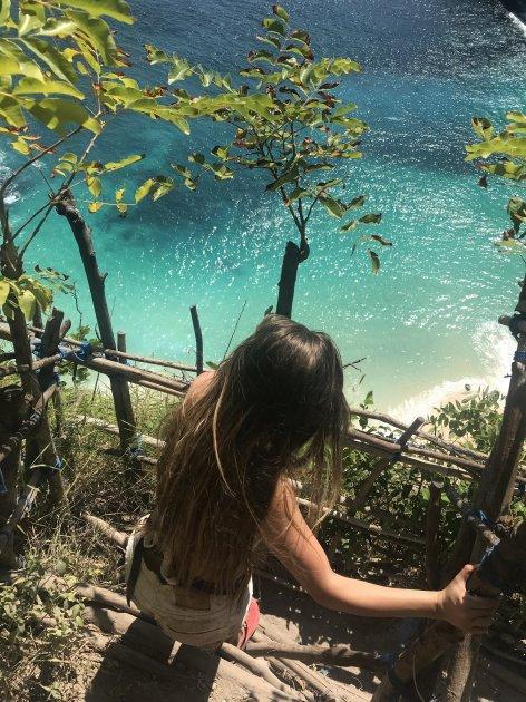 Вид на пляж на Бали