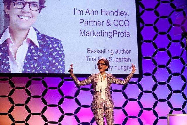 Энн Хэндли, MarketingProfs