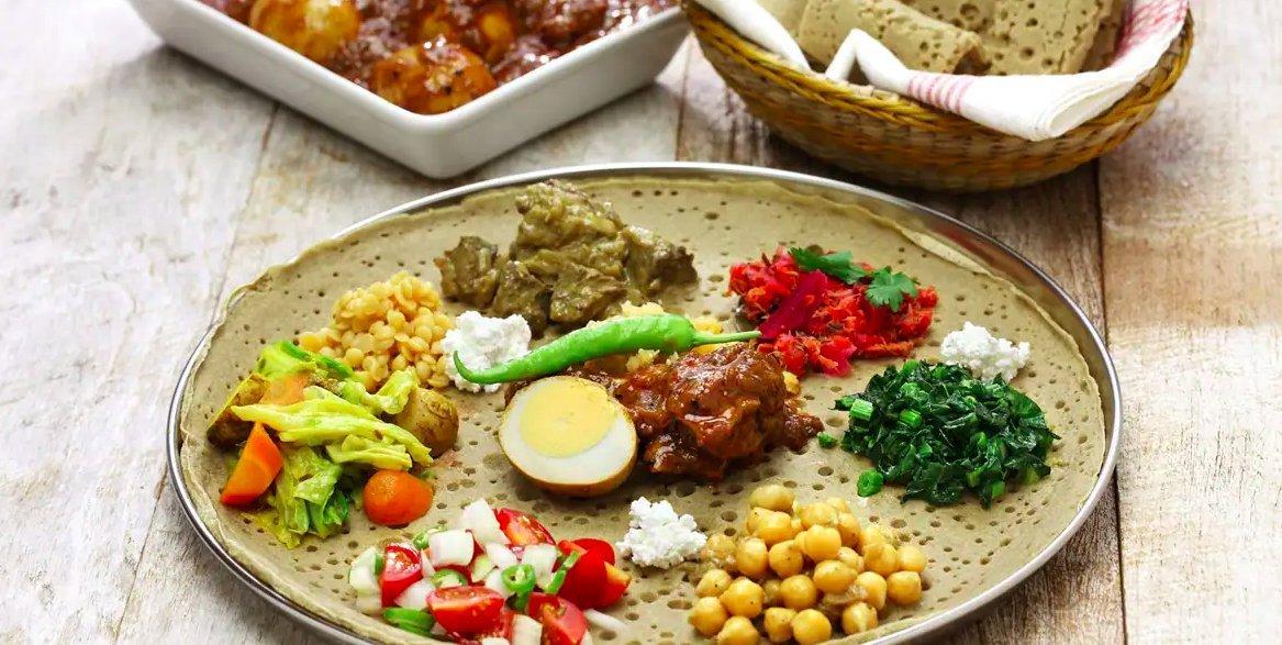 Ефіопська кухня в Al Habasha