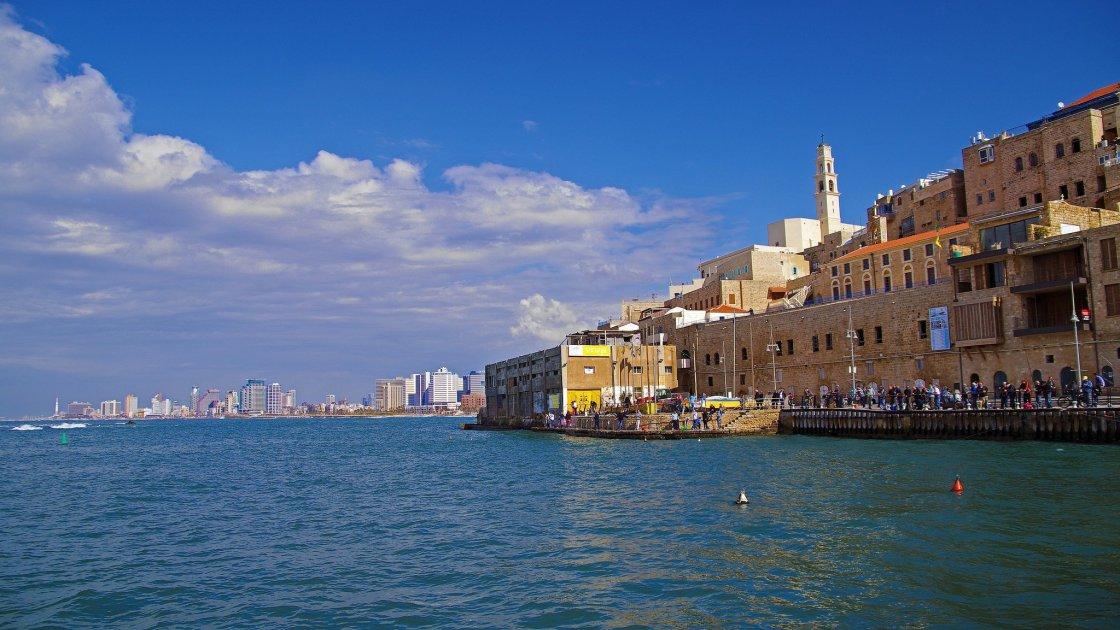 Тель-Авив, старый порт Яффо