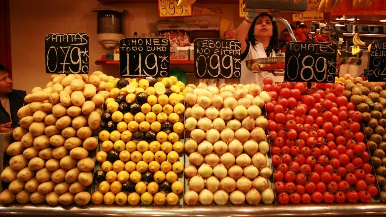 Рынок Boqueria