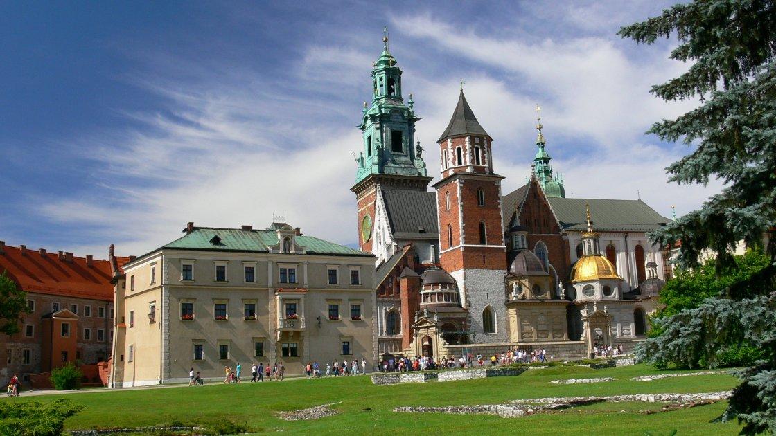 Вавельский замок - Краков