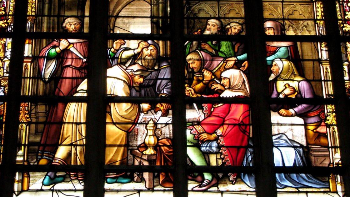 Собор святых Михаила и Гудулы - Брюссель