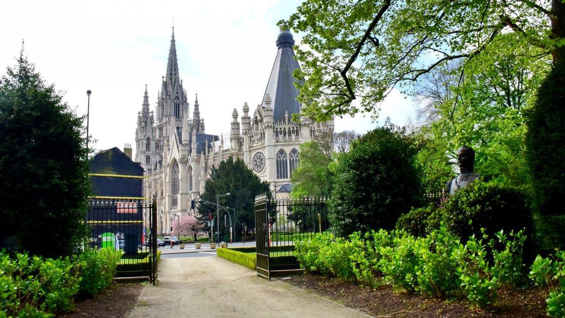 Церковь Богоматери Побед в Саблоне -Брюссель