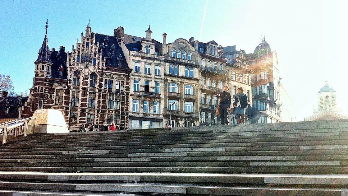 Гора искусств - Брюссель