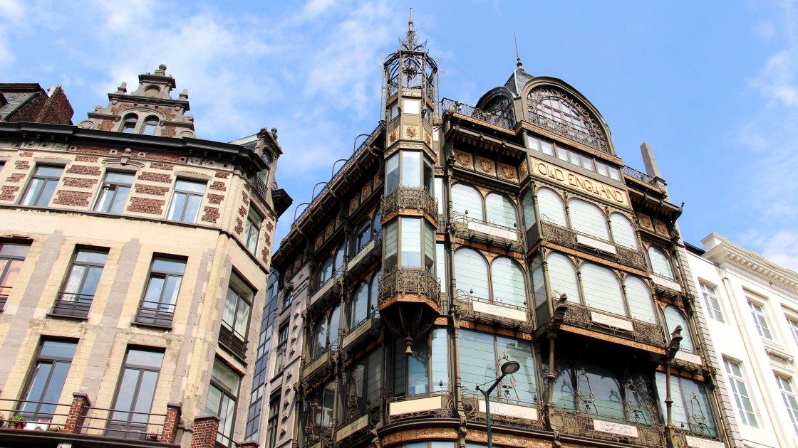 Музей музыкальных инструментов - Брюссель