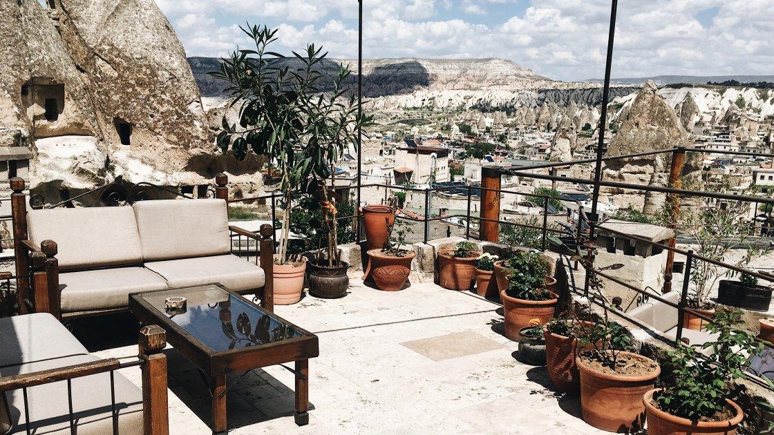 Террасы Каппадокии