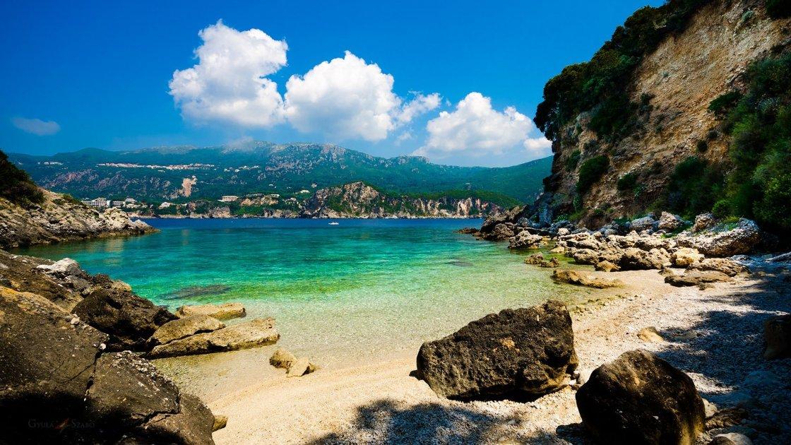 Klimatia beach, Corfu
