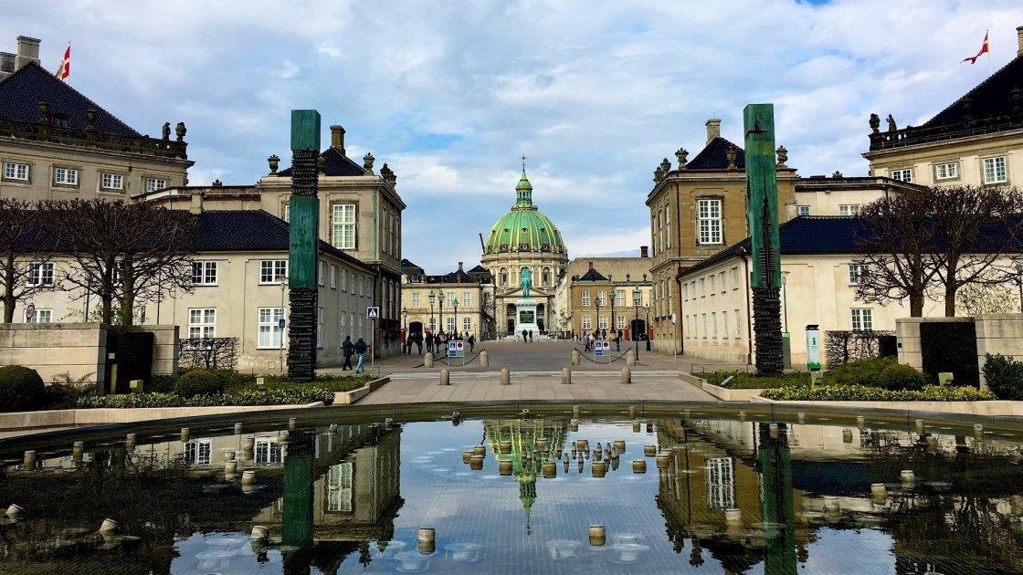 палац Амалієнборг  - Данія