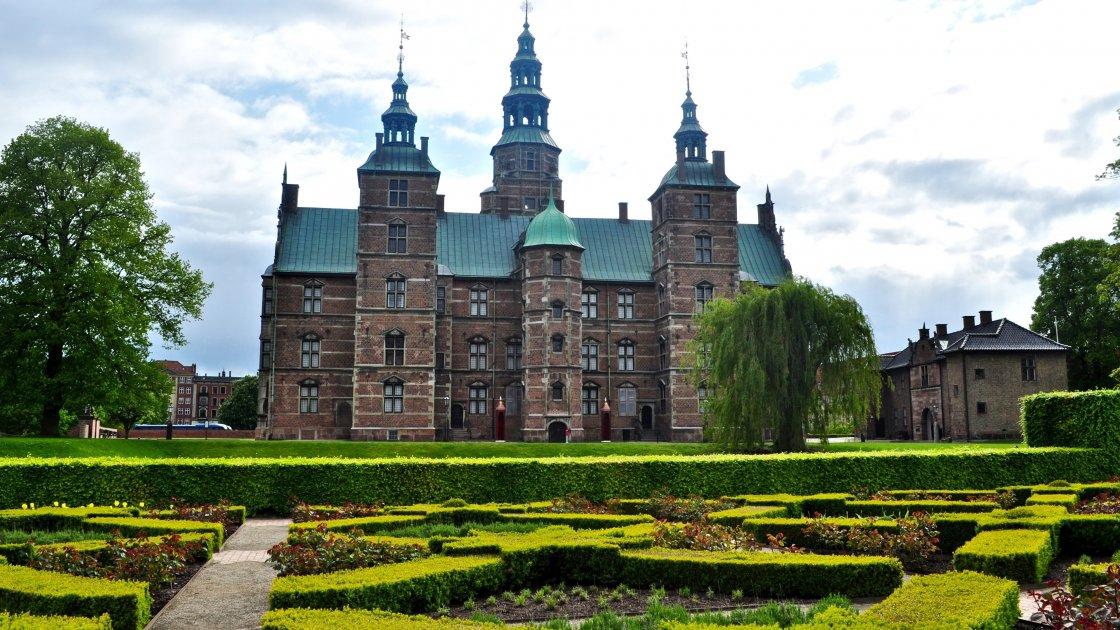 Замок Розенборг - Данія