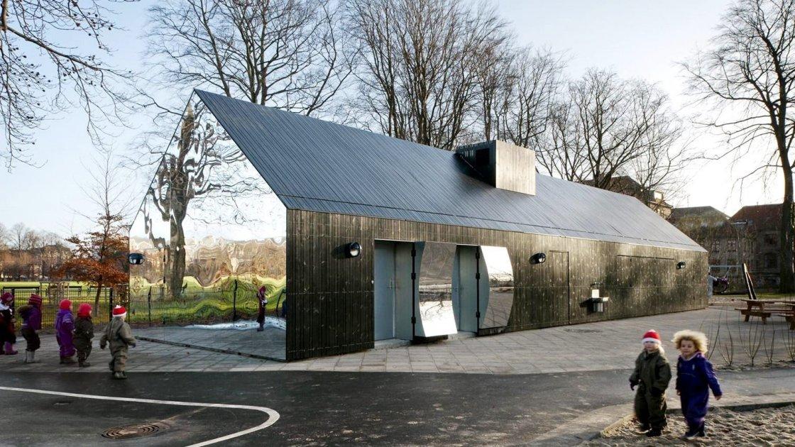 Дзеркальний будинок - Копенгаген