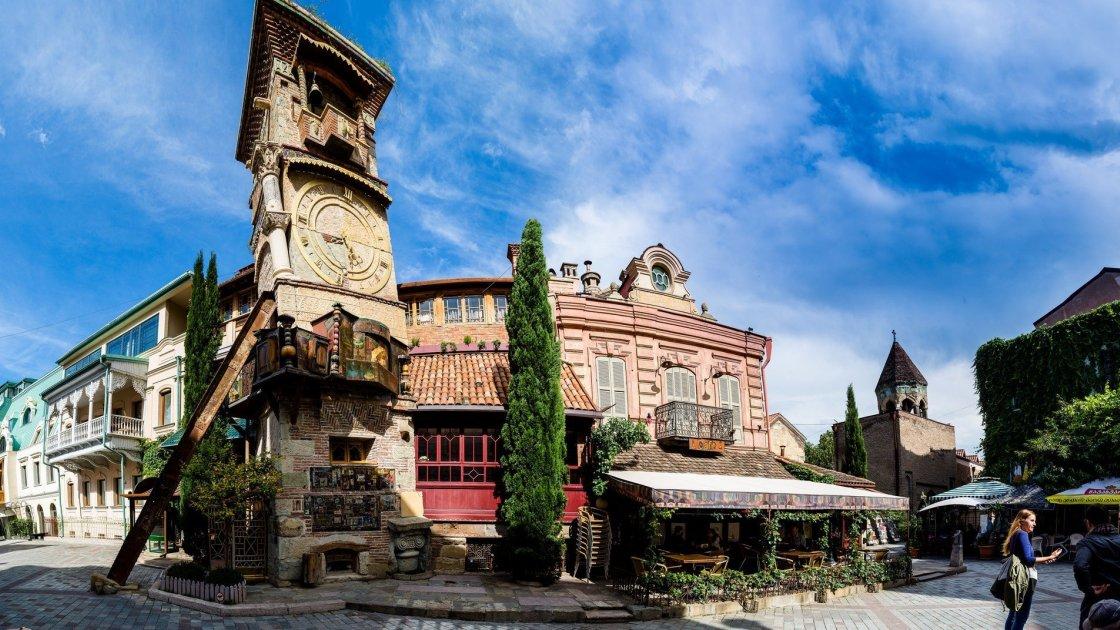 Тбилисский театр марионеток Резо Габриадзе