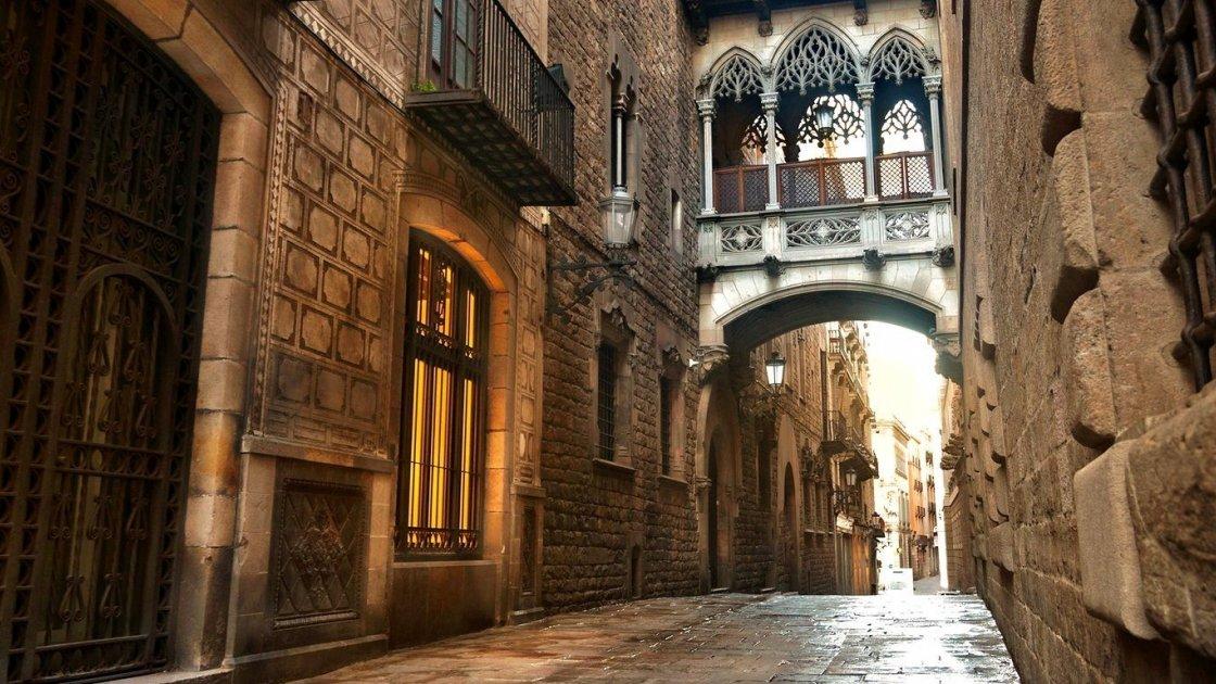 Готический квартал - Барселона, фото
