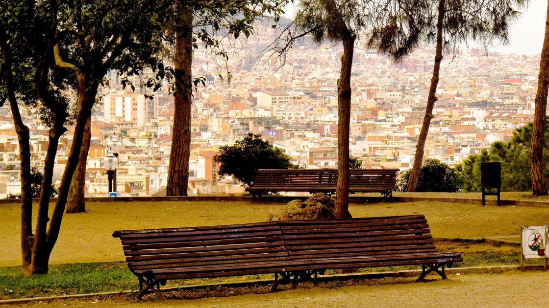 Холм Монжуик - Барселона, фото