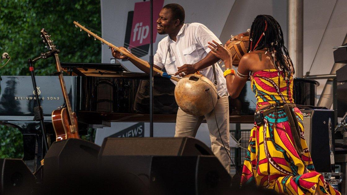 Фестиваль джаза в парке Флораль