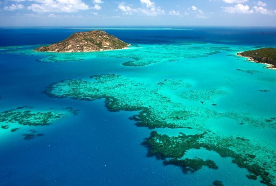 Большой Барьерный риф и остров Ящериц