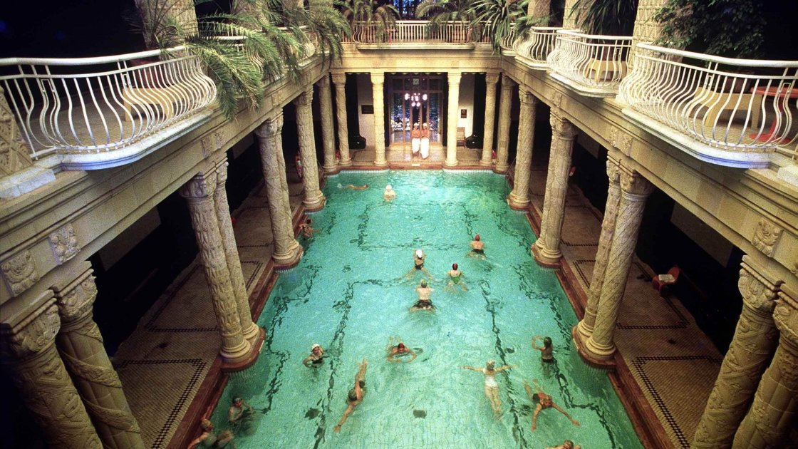 Купальня Сечені - Будапешт