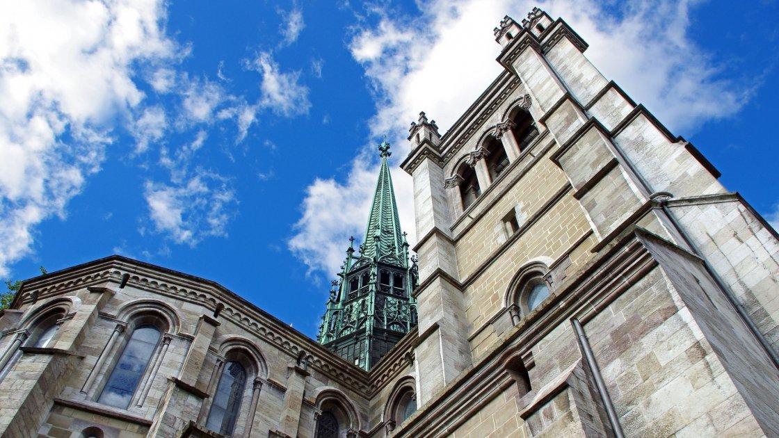 Собой Святого Петра в Женеве