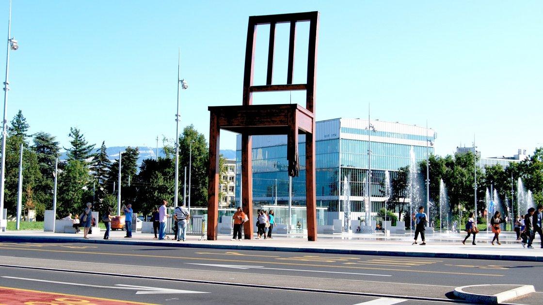 женева пам'ятки стілець