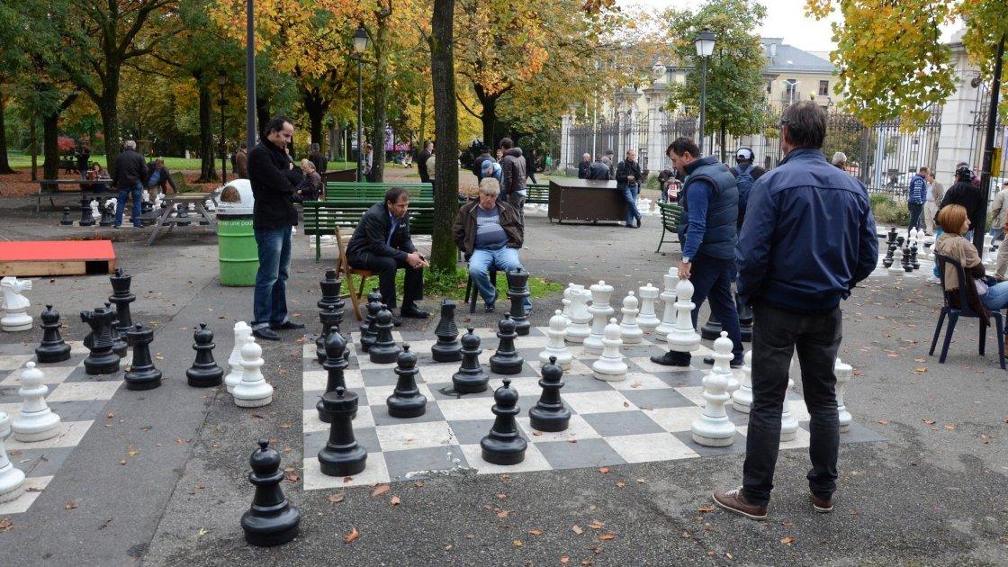 Вуличні шахи