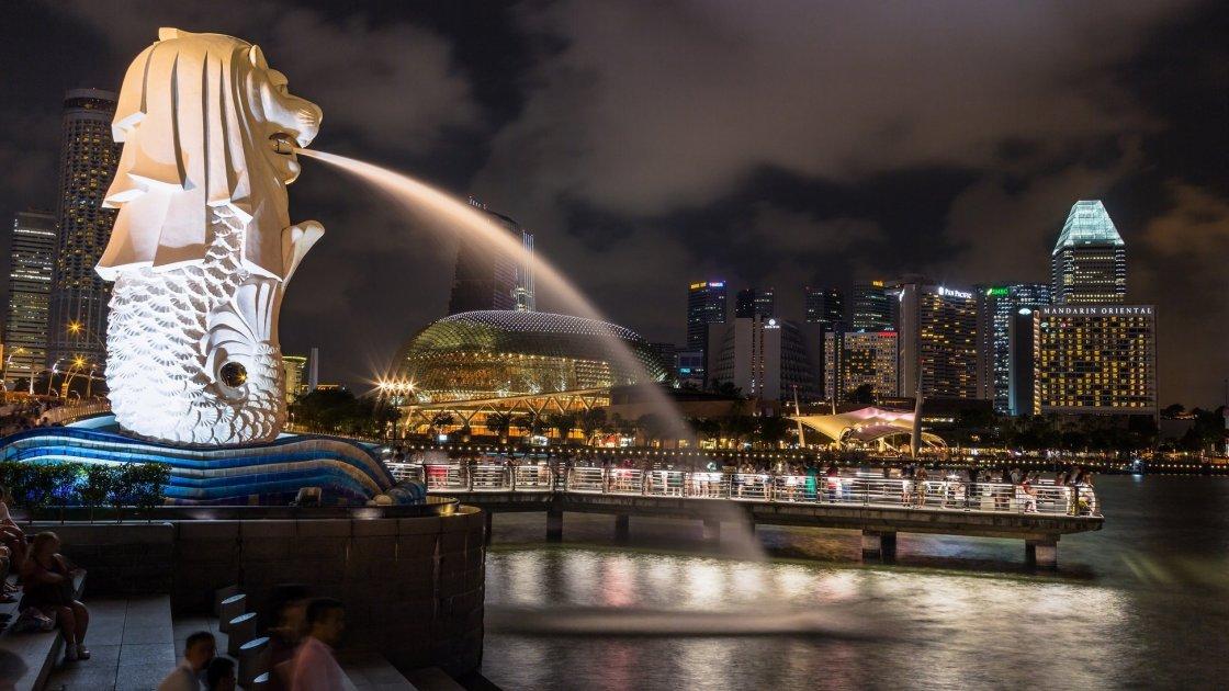 Статуя Мерліона - Сінгапуру