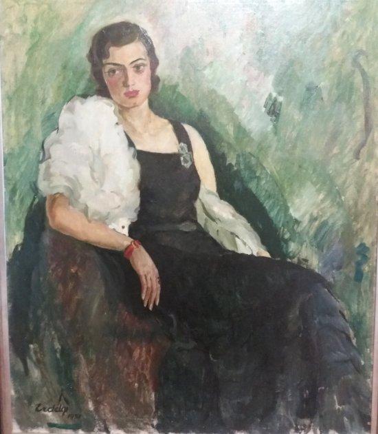 «Портрет А.С.» Адальберта Эрдели