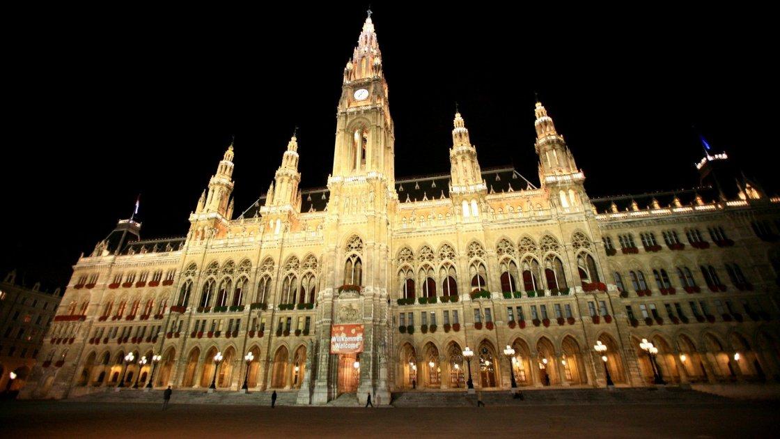 Ратушная площадь в Вене