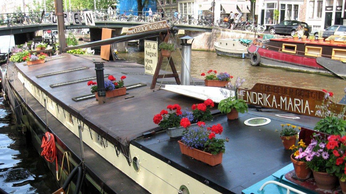 Лодка-музей Hendrika-Maria