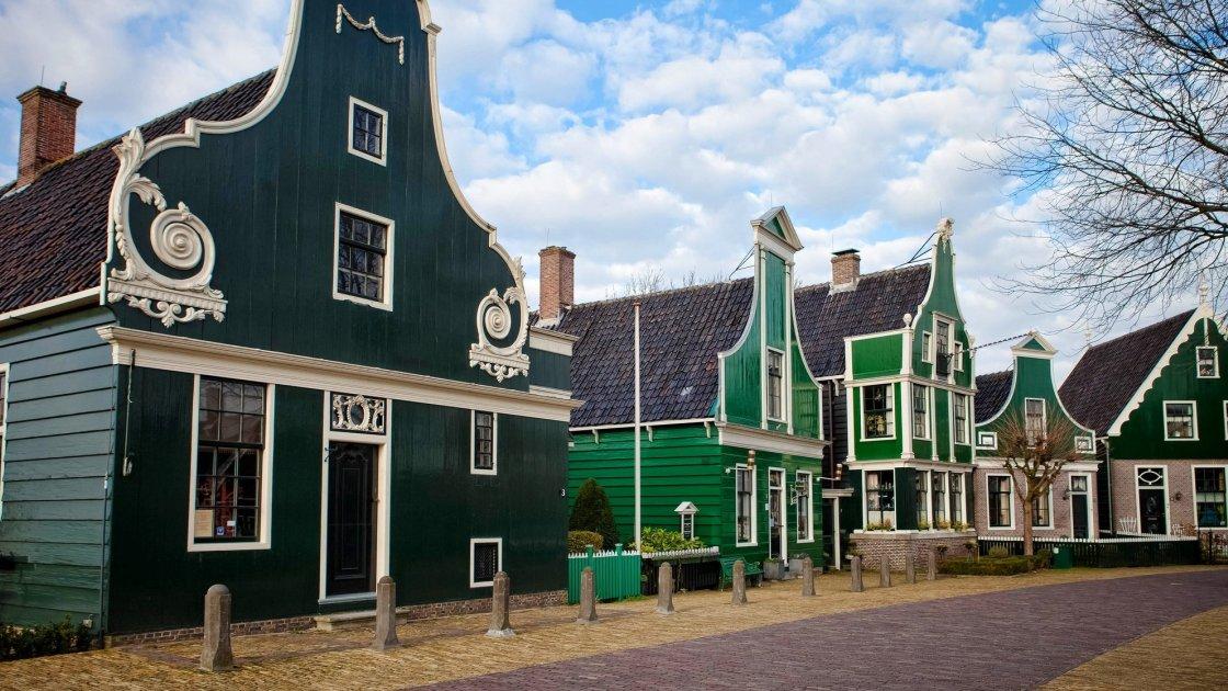 Деревня Zaanse Schans