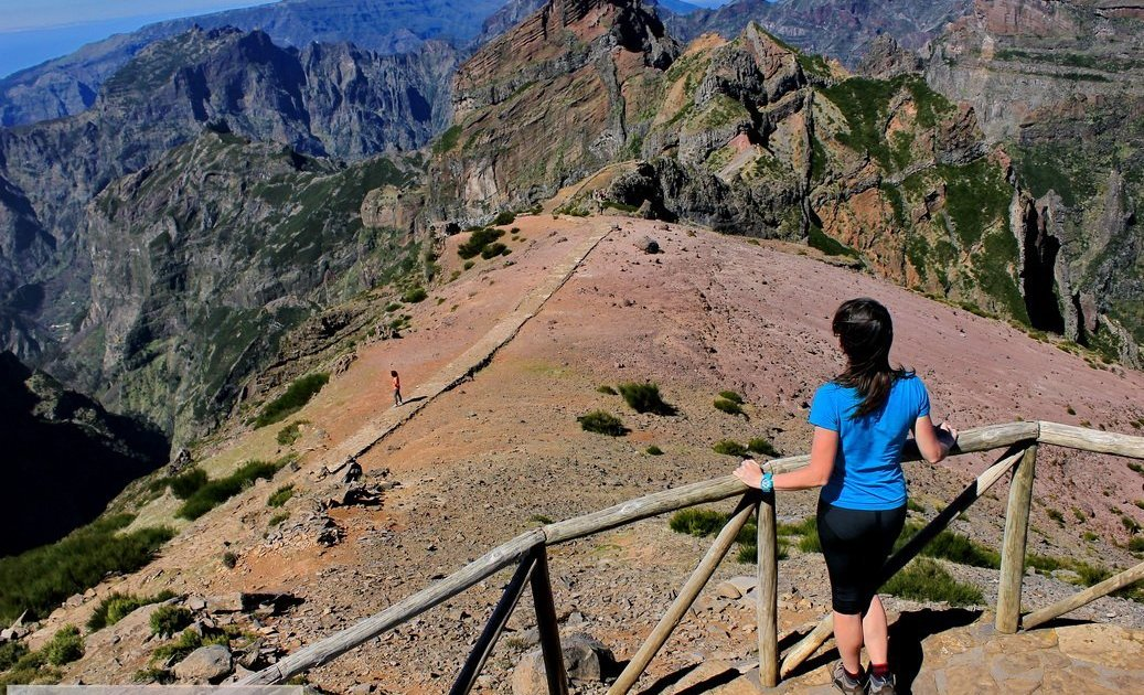 Вид на долину Фаджа да Ногейра