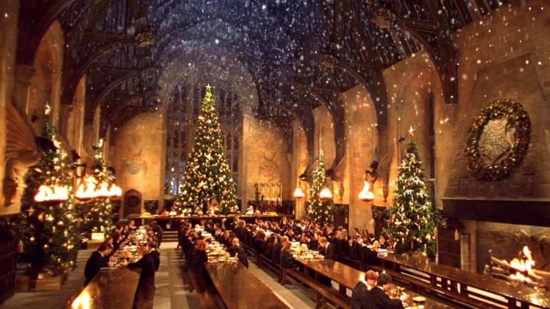 Экскурсии в рождественский Хогвартс