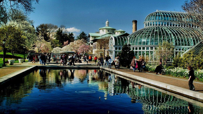 Ботанический сад в Бруклине - Нью-Йорк