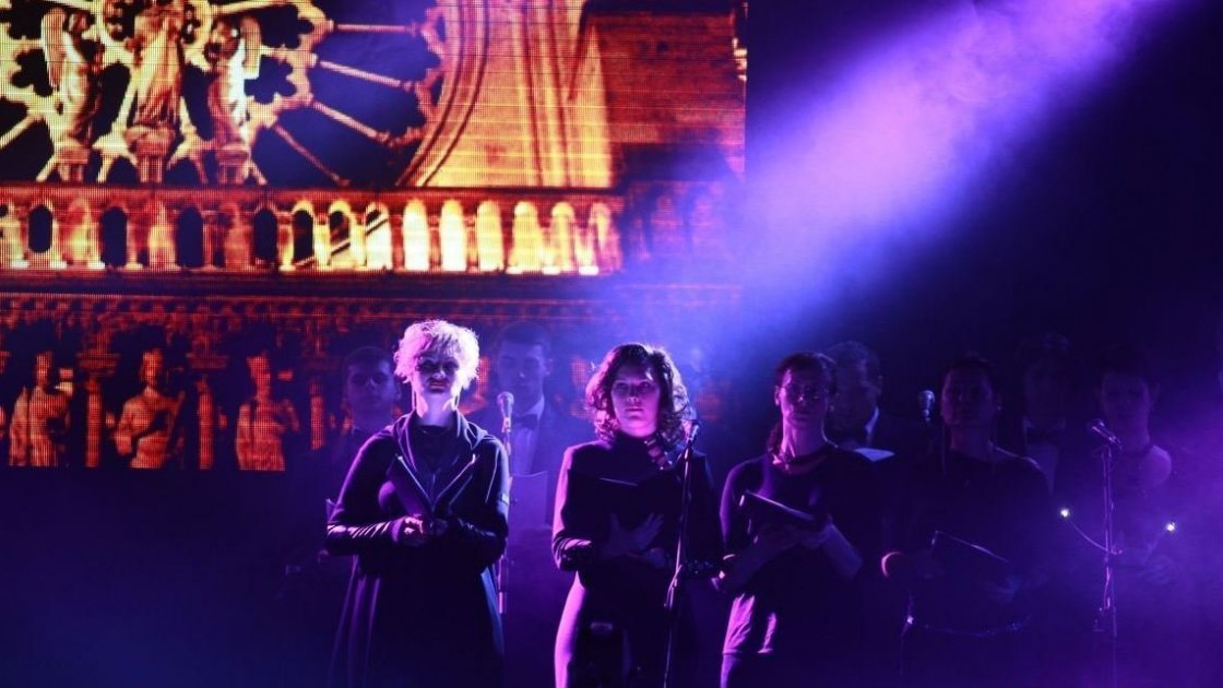 Шоу Notre Dame De Paris