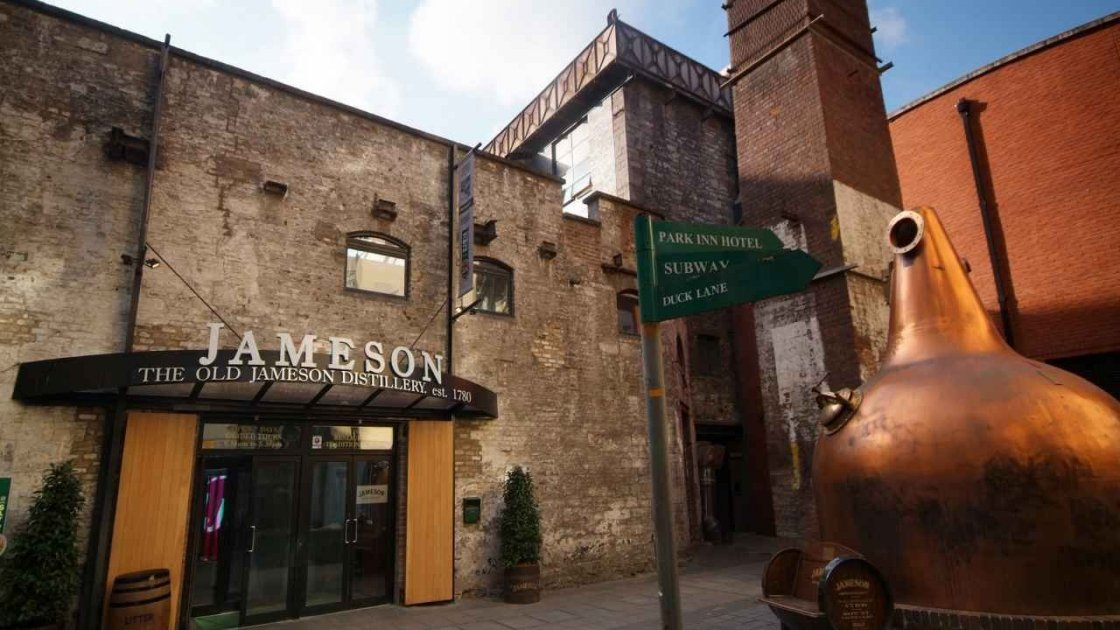 Винокурня Old Jameson Distillery