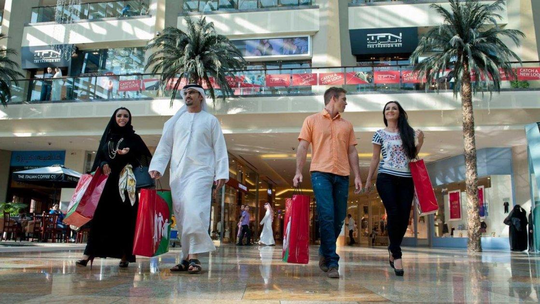 Дубай - шопинг