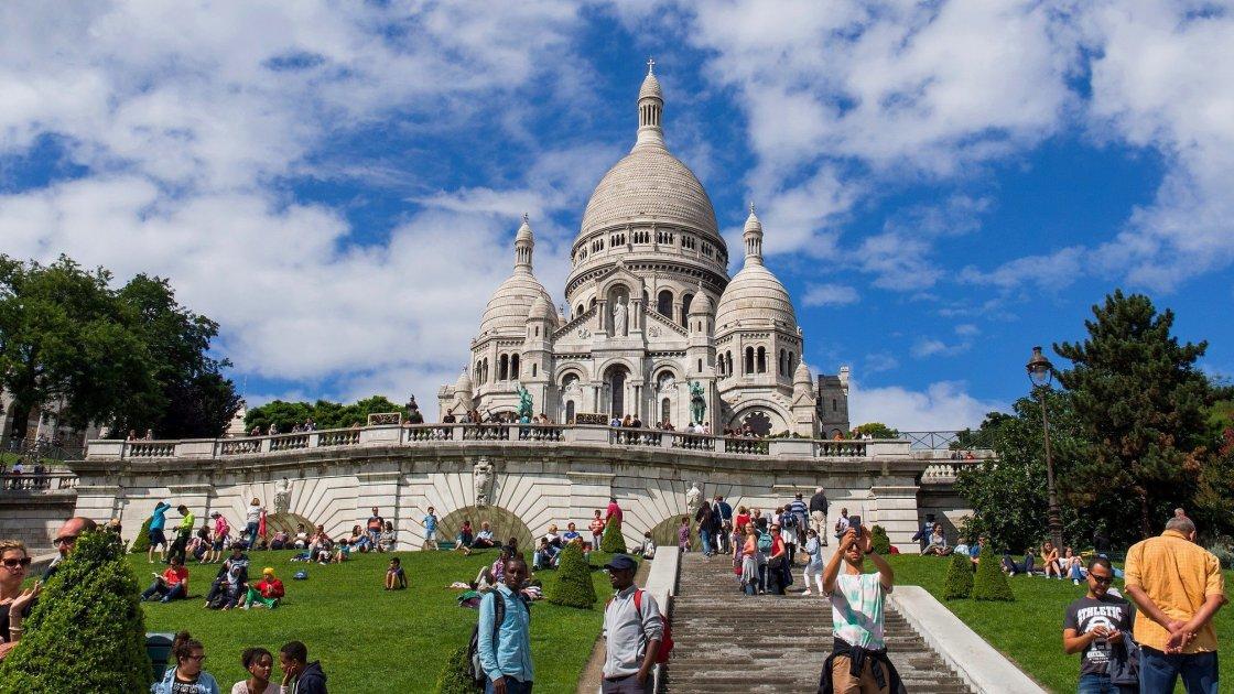 Базилика Сакре-Кёр - Париж
