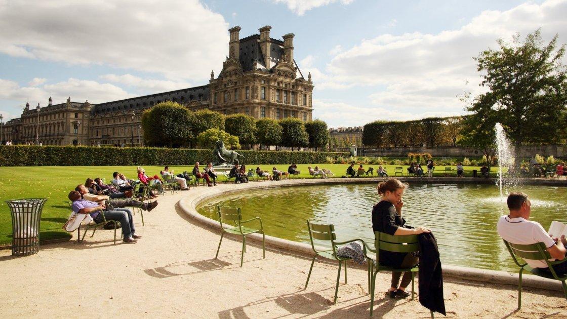 Сад Тюильри - Париж