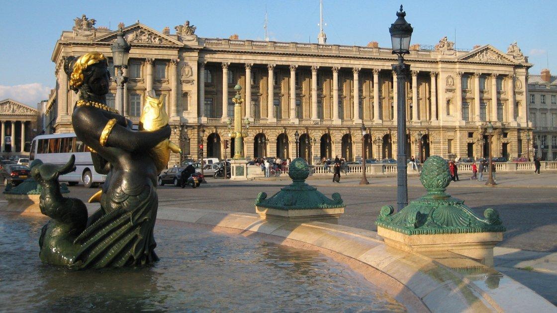 Площадь Согласия - Париж