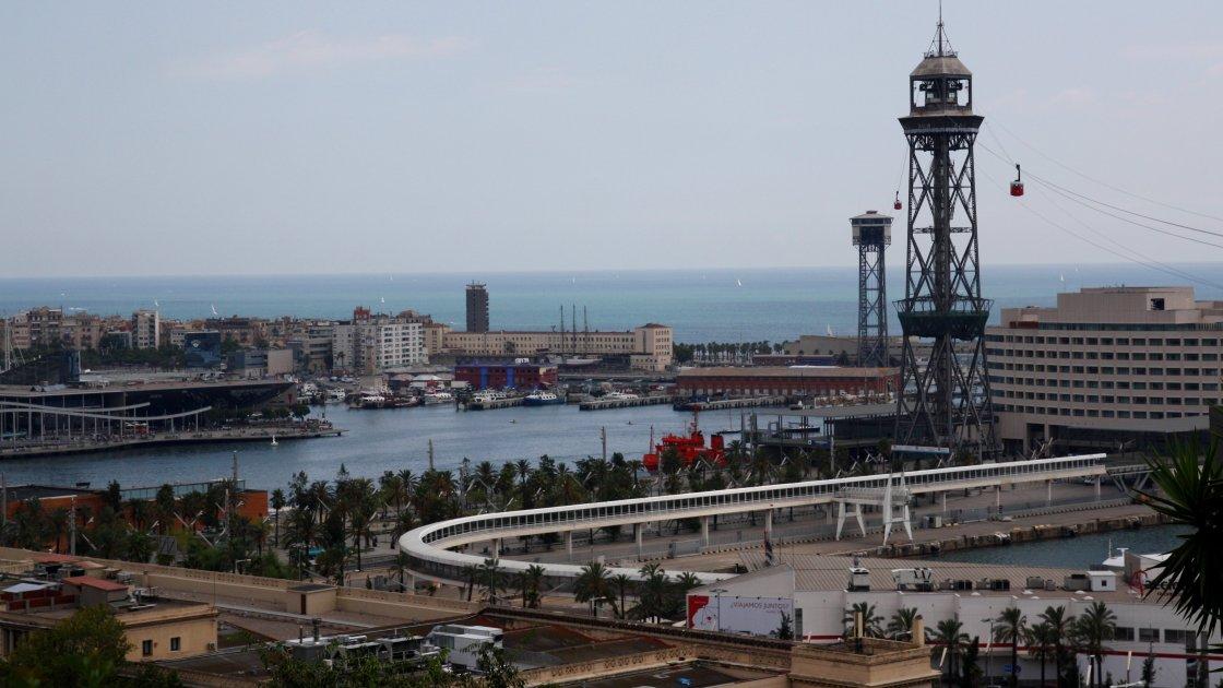 Канатная дорога Transbordador aeri del port