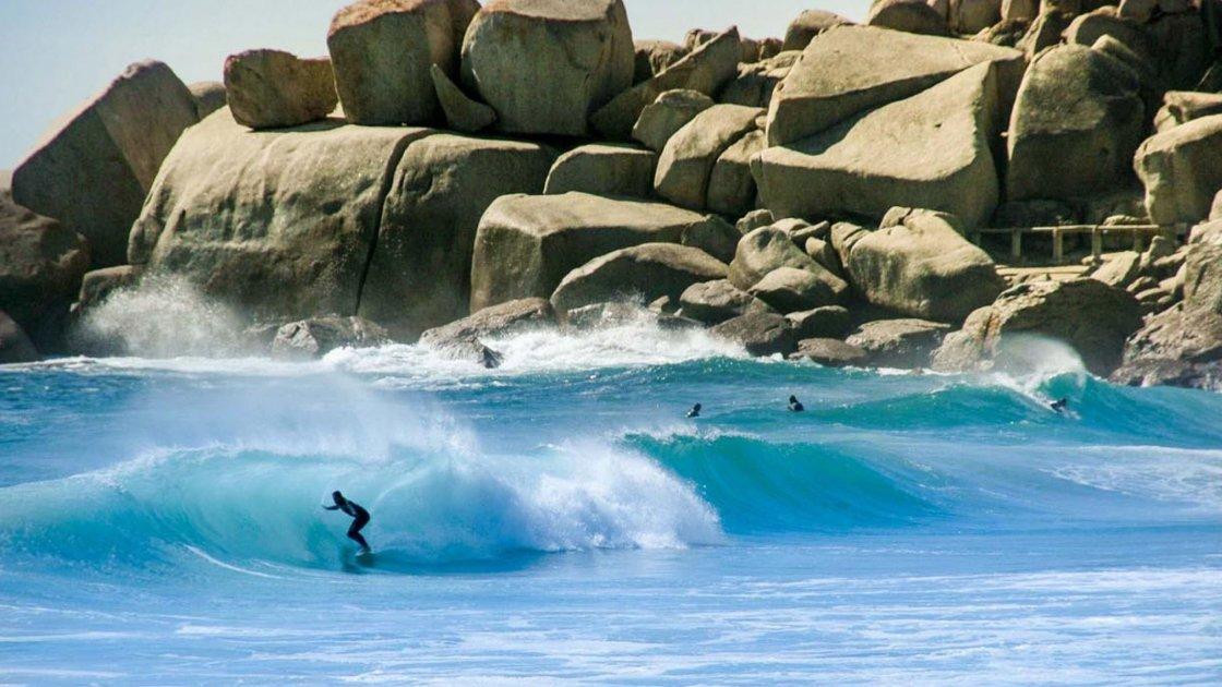 серфинг в кейптаун
