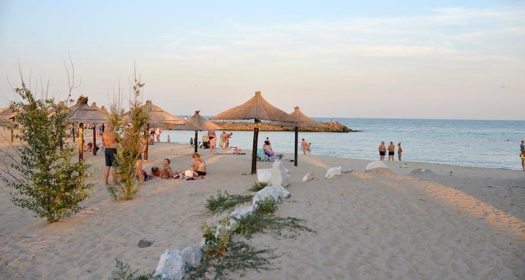 Пляж Бердянска