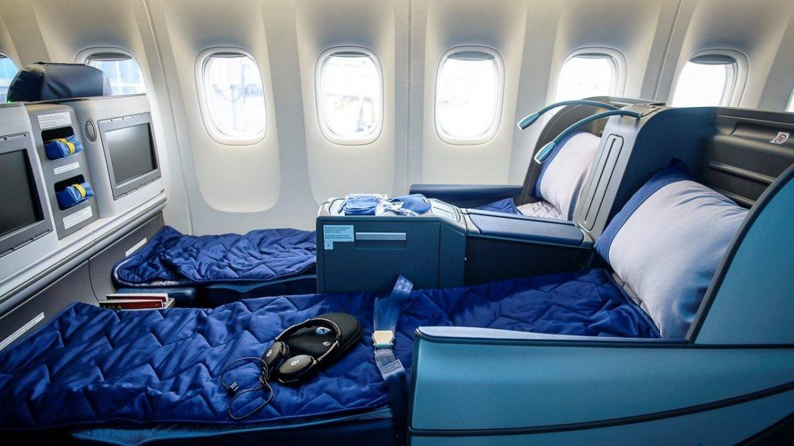 Премиум класс в самолете фото