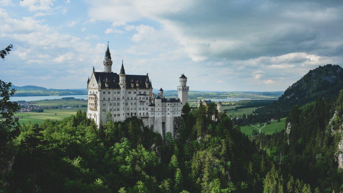 Замок Нойшванштайн - Мюнхен